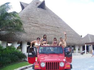 Gozando en Cozumel