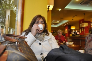 Un cafecito en Zaragoza