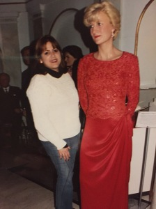 Wax Museum with Princess Diana