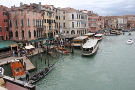 Picture taken from the Rialto Bridge