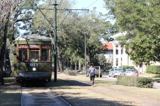 St. Charles Streetcar Line(the most traditional one)